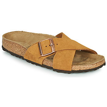 Skor Dam Tofflor Birkenstock SIENA LEATHER Kamel