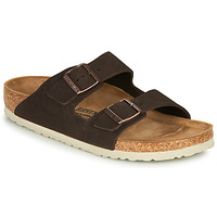Skor Herr Tofflor Birkenstock ARIZONA LEATHER Brun