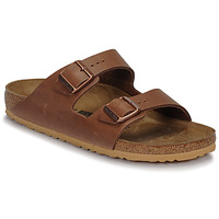 Skor Herr Tofflor Birkenstock ARIZONA LEATHER Antik / Expresso