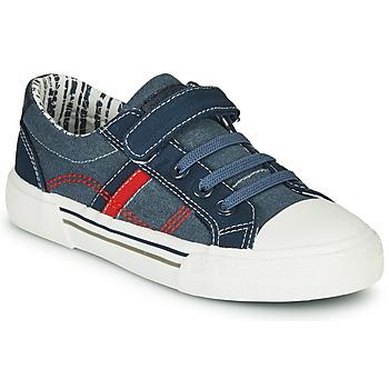 Skor Pojkar Sneakers André ALAN Blå