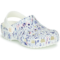 Skor Dam Träskor Crocs LIBERTY LONDON X CLASSIC LIBERTY GRAPHIC CLOG K Vit