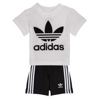 textil Pojkar Set adidas Originals CAROLINE Vit / Svart