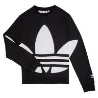 textil Barn Sweatshirts adidas Originals BRIGDA Svart