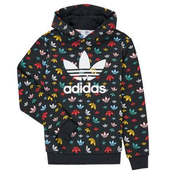 textil Flickor Sweatshirts adidas Originals DLIA Svart