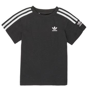 textil Pojkar T-shirts adidas Originals MINACHE Svart