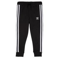 textil Barn Joggingbyxor adidas Originals LOOAI Svart