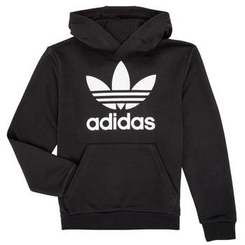 textil Barn Sweatshirts adidas Originals ZACK Svart