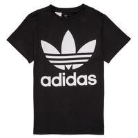 textil Barn T-shirts adidas Originals MAXENCE Svart