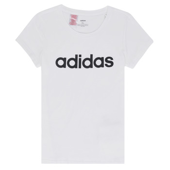 textil Flickor T-shirts adidas Performance NELIZO Vit