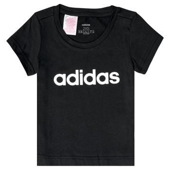 textil Flickor T-shirts adidas Performance NATRAZ Svart