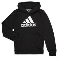 textil Pojkar Sweatshirts adidas Performance MANEZ Svart