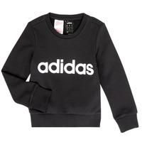 textil Flickor Sweatshirts adidas Performance MED Svart