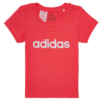 textil Flickor T-shirts adidas Performance MAKIT Rosa