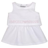 textil Flickor Korta klänningar Emporio Armani Alberic Vit