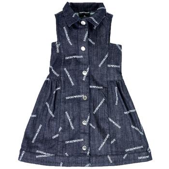 textil Flickor Korta klänningar Emporio Armani Andy Blå