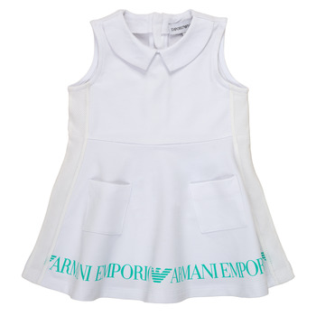 textil Flickor Korta klänningar Emporio Armani Apollinaire Vit