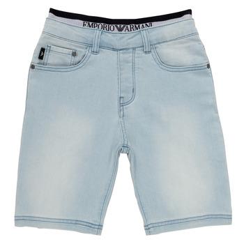textil Pojkar Shorts / Bermudas Emporio Armani Albert Blå