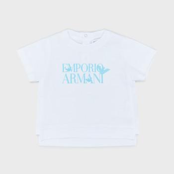 textil Pojkar T-shirts Emporio Armani Arthus Vit
