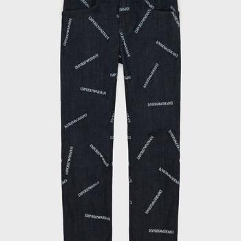 textil Pojkar Raka byxor Emporio Armani Adil Blå