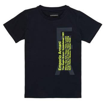 textil Pojkar T-shirts Emporio Armani Andoni Marin