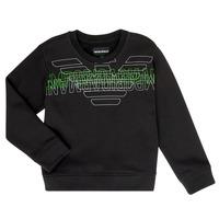 textil Pojkar Sweatshirts Emporio Armani Austin Svart