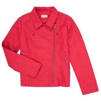 textil Flickor Skinnjackor & Jackor i fuskläder Only KONCARLA Rosa