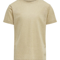 textil Flickor T-shirts Only KONSILVERY Guldfärgad