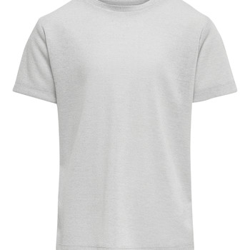 textil Flickor T-shirts Only KONSILVERY Silver