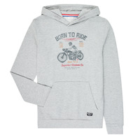 textil Pojkar Sweatshirts Name it NKMTMOTORWALA Grå