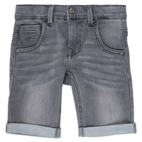 textil Pojkar Shorts / Bermudas Name it NKMTHEO Grå
