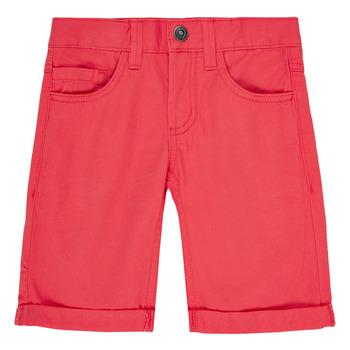 textil Pojkar Shorts / Bermudas Name it NKMSOFUS TWIISAK Röd