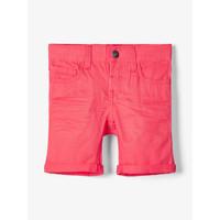 textil Pojkar Shorts / Bermudas Name it NMMSOFUS TWIISKA Röd