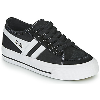 Skor Barn Sneakers Gola QUOTA II Svart / Vit