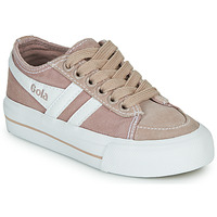 Skor Barn Sneakers Gola QUOTA II Rosa / Vit