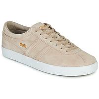 Skor Dam Sneakers Gola TRAINER SUEDE Rosa / Vit