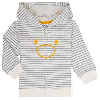textil Pojkar Sweatshirts Noukie's CAM Vit