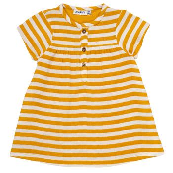 textil Flickor Korta klänningar Noukie's YOUNES Gul