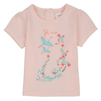 textil Flickor T-shirts Carrément Beau NOLAN Rosa