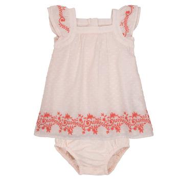 textil Flickor Korta klänningar Carrément Beau SAMY Rosa