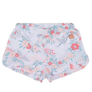 textil Flickor Shorts / Bermudas Carrément Beau SAMUEL Vit