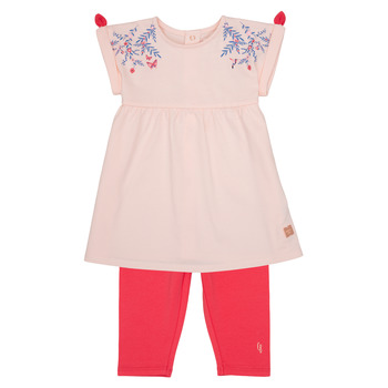 textil Flickor Set Carrément Beau AIMEE Rosa
