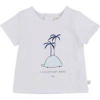 textil Pojkar T-shirts Carrément Beau MARTINEZ Vit