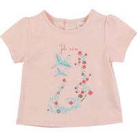textil Flickor T-shirts Carrément Beau JUSTINE Rosa