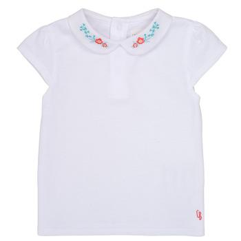 textil Flickor T-shirts Carrément Beau JULIEN Vit