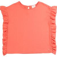 textil Flickor T-shirts Carrément Beau LEANA Rosa