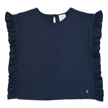 textil Flickor T-shirts Carrément Beau KAMILLIA Blå