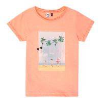 textil Flickor T-shirts 3 Pommes LEA Orange