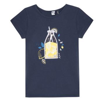 textil Flickor T-shirts 3 Pommes LOGAN Blå