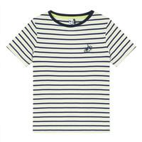 textil Pojkar T-shirts 3 Pommes NORDINE Gul