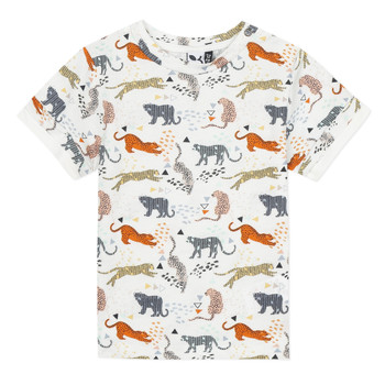 textil Pojkar T-shirts 3 Pommes ARIANE Orange